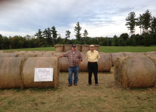 Hay Maze at Shelburne Farms Vermont