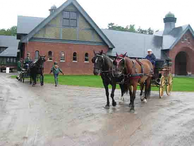 Carriage Barn Shelburne Farms Vermont