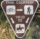 Yield To Horses on Trails