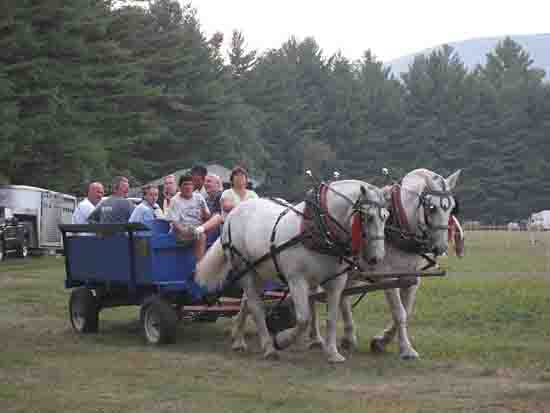 Hayride at Newbury NH